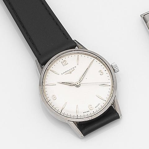 Longines. A stainless steel manual wind centre seconds wristwatch Jamboree, Ref:6884 17, Movement No.12653142, Circa 1964