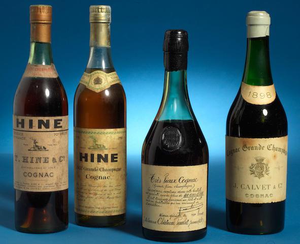 Hine Grande Champagne 1904 (1)<BR />Hine Grande Champagne 1952 (1)