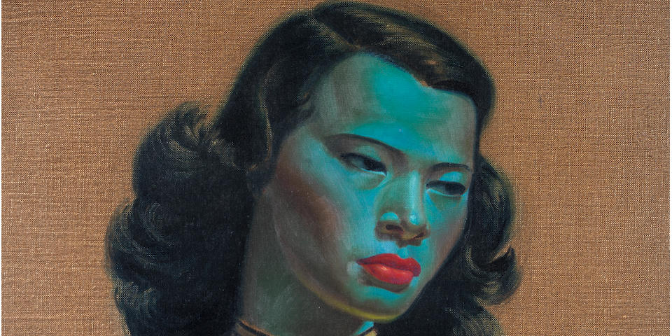 Vladimir Griegorovich Tretchikoff (South African, 1913-2006) 'Chinese Girl'