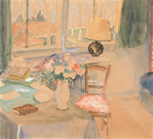 Maud Frances Eyston Sumner (South African, 1902-1985) Interior
