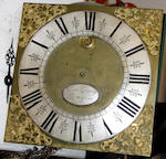 A wall mounted clock movement, adapted