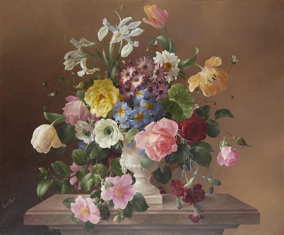 Harold Clayton (British, 1896-1979) 'Mixed Flowers'