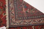 A Tabriz carpet 256cm x 248cm.