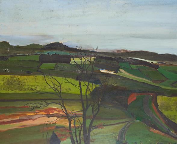 Ben Levene RA (British, 1938-2010) Winter 1975