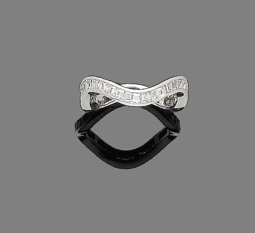 A diamond eternity ring, by Graff
