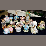 A group of twelve Beswick Beatrix Potter figures,