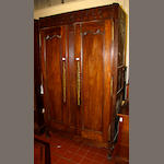 A French provincial oak armoire,