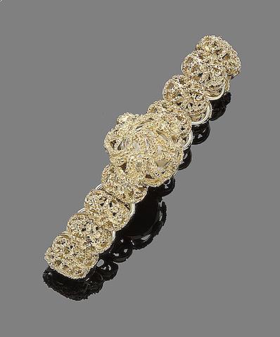 A lady's wristwatch, by Rolex