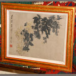 A pair of Chinese paintings after Xu Gu