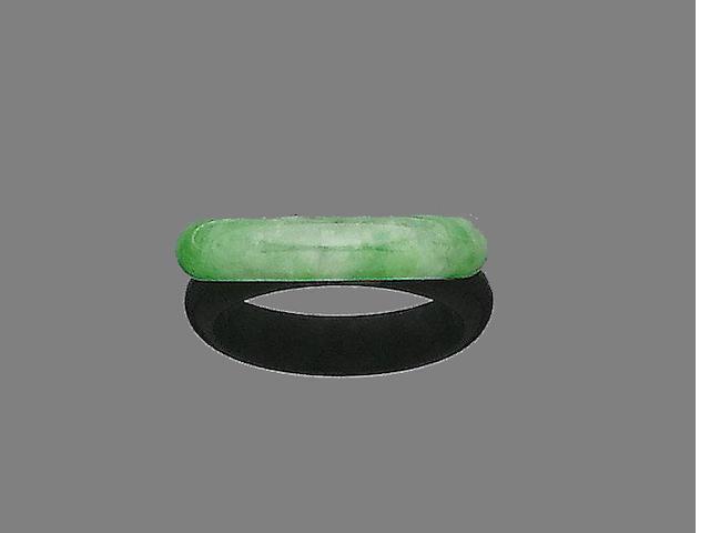 A jade ring