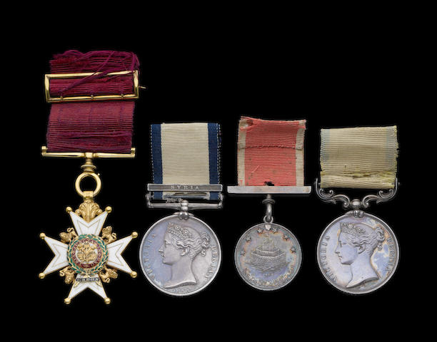 A C.B. group of four to Inspector-General Dr H.J.Domville, Royal Navy, and Honorary Surgeon to Queen Victoria,
