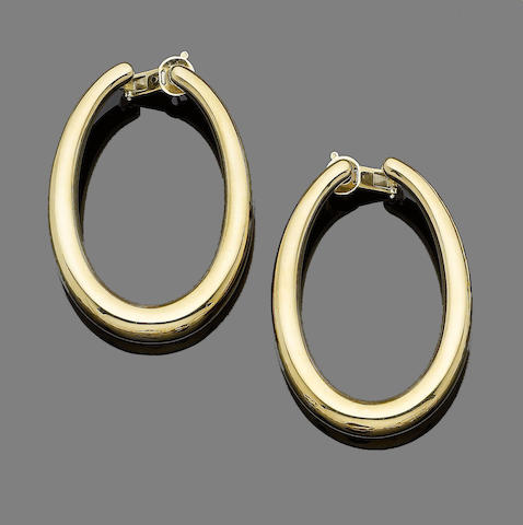 A pair of 'Masai' earrings, by Boucheron