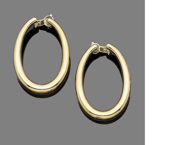 A pair of 'Masai' earrings, by Boucheron