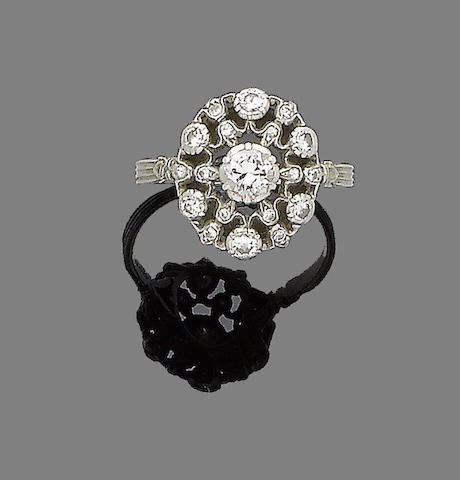 A diamond dress ring, by Buccellati