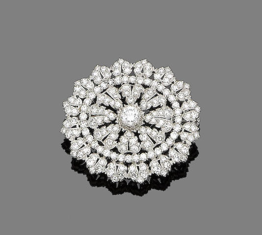 A diamond brooch, by Buccellati