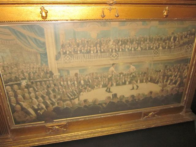"""An Evening at The National Sports Club""  William Howard Robinson"