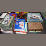 A collection of Victorian and Edwardian games, jigsaws and related manuals and books,