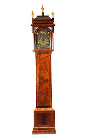An early 18th Century walnut longcased clock, James Wright, London