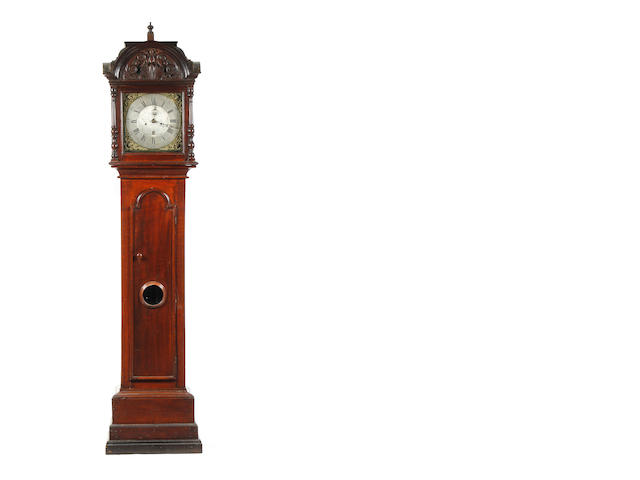A mahogany cased eight day longcase clock by S. Collier, Eccles