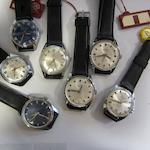 A lot of thirty-five believed New Old Stock manual wind watches