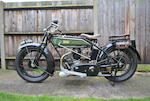 1925 Rudge 499cc 4 Valve, 4 Speed Engine no. 51745