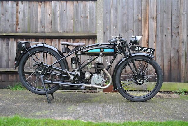 1928 Triumph W de Luxe
