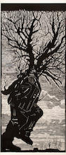 William Joseph Kentridge (South African, born 1955) Walking man, studio proof