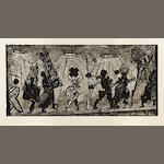 William Joseph Kentridge (South African, born 1955) Procession no. 3/40