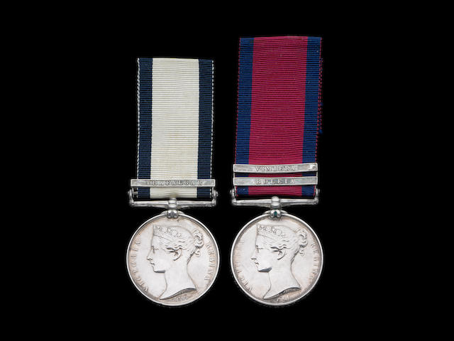 Pair to Assistant Surgeon R.H.Bolton, 78th and 50th Foot, late Royal Navy,