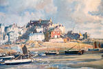 Samuel John Lamorna Birch, R.A., R.W.S., R.W.A. (British, 1869-1955) St Ives at low tide