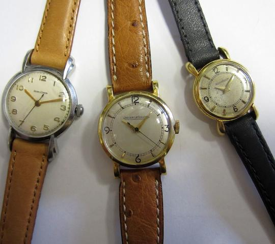 A lot of three lady's wristwatches by Jaeger LeCoultre