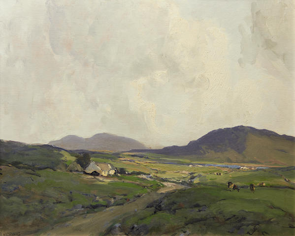James Humbert Craig (Irish, 1878-1944) Near Rosbeg, Co. Donegal