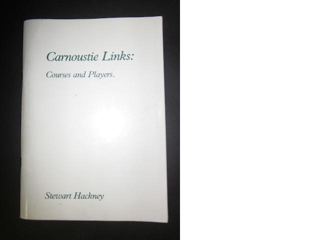 Book: Carnoustie Links