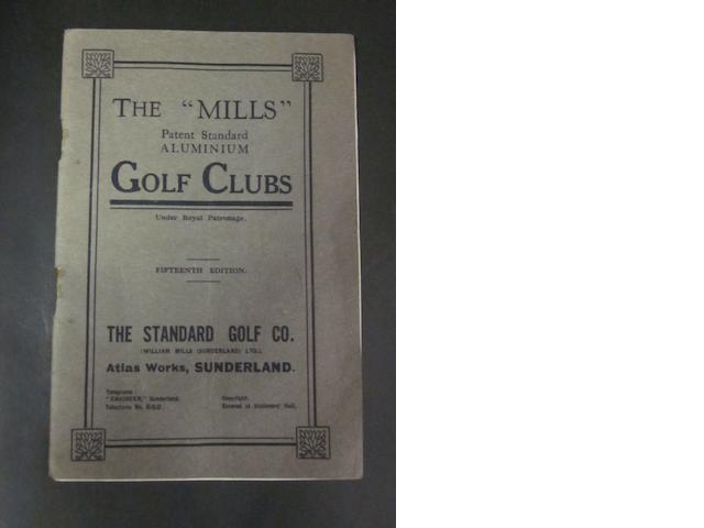 Book: Mills golf clubs