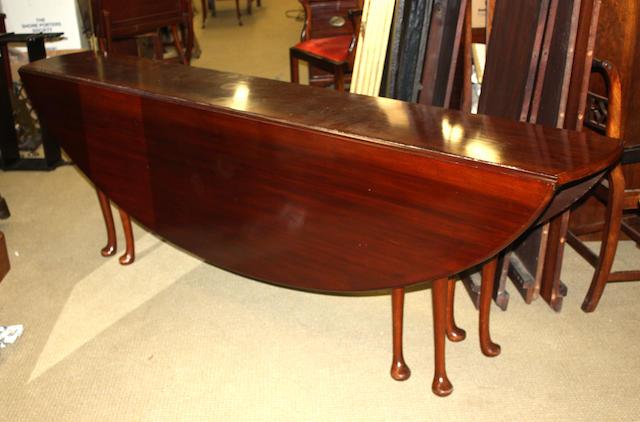 A contemporary mahogany wake tableFourth quarter twentieth century