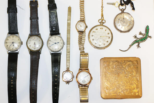 A collection of watches, (10)