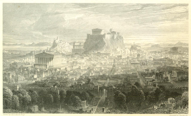 GREECE WILLIAMS (HUGH W.) Select Views in Greece, with Classical Illustrations, 1829