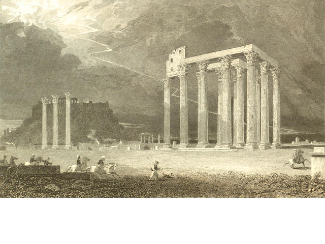 GREECE WILLIAMS (HUGH W.) Select Views in Greece, with Classical Illustrations, 2 vol., FIRST EDITION. 1829