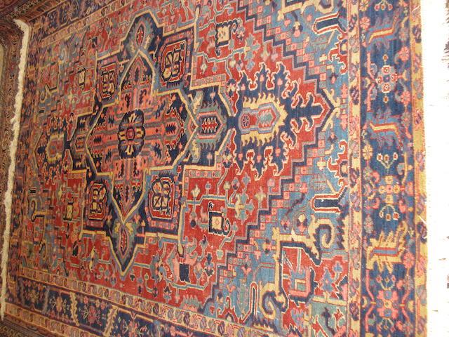 A Heriz carpet, North West Persia, 280cm x 215cm