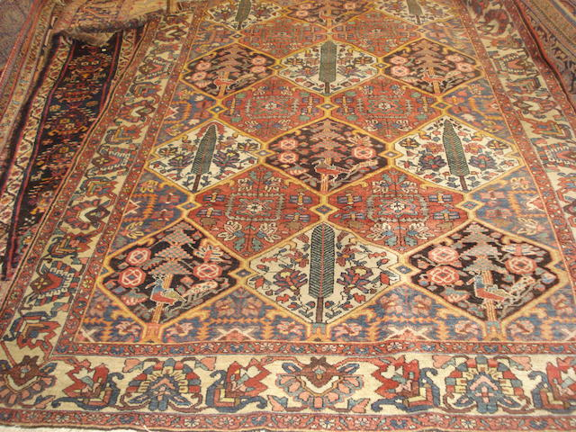 A Bakhtiar carpet, West Persia, 316cm x 206cm
