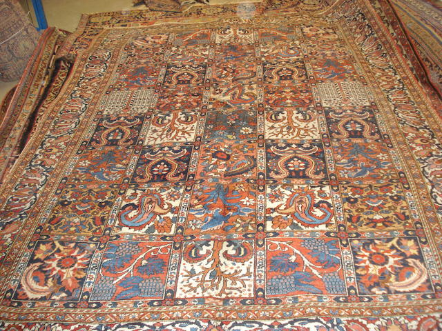 A Bakhtiar carpet, West Persia, 317cm x 228cm