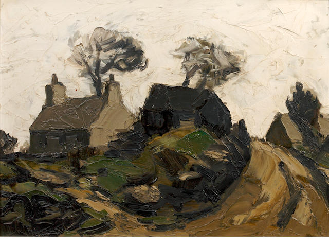 Sir Kyffin Williams R.A. (British, 1918-2006) 'Farm Llansadwrn'