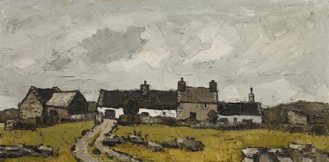 Sir Kyffin Williams R.A. (British, 1918-2006) 'Farm Penmynydd'