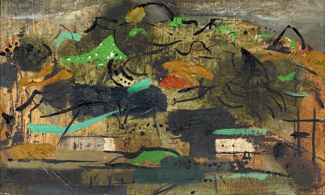 John Piper CH (British, 1903-1992) 'Penrhyndeudraeth'