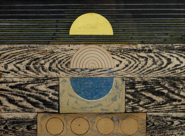 Ceri Richards (British, 1903-1971) Sunrise
