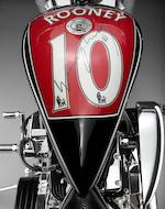 2012 Lauge Jensen 'Wayne Rooney' Custom Motorcycle - Kids Aid Charity