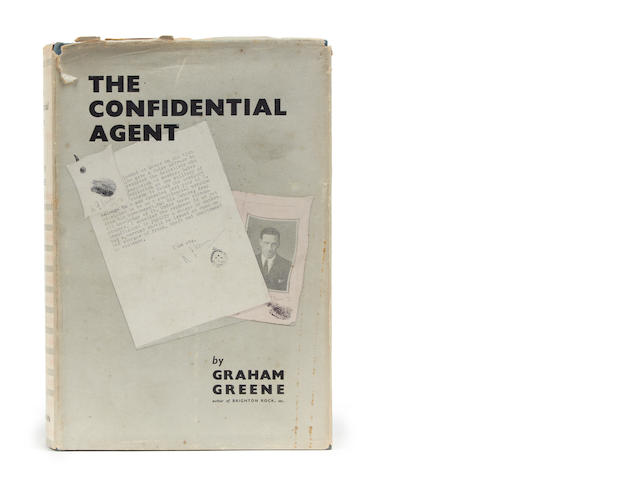 GREENE (GRAHAM) The Confidential Agent, FIRST EDITION, dust-jacket, 1939