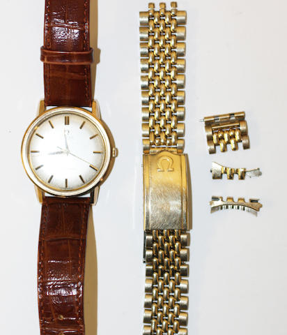 Omega: A 9ct gold Seamaster Automatic gentleman's wristwatch,