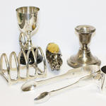A large collection of miscellaneous items,