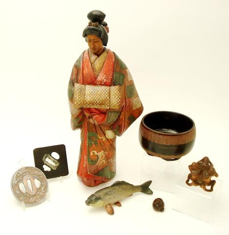Various Japanese collectables